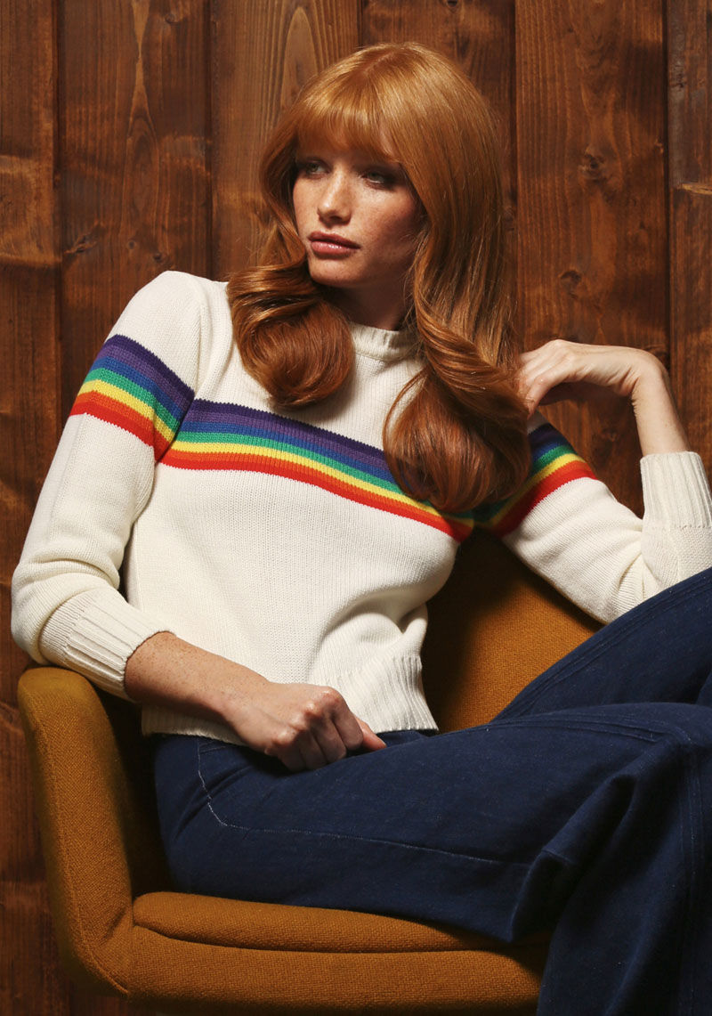 Vibrantly Retro Winterwear