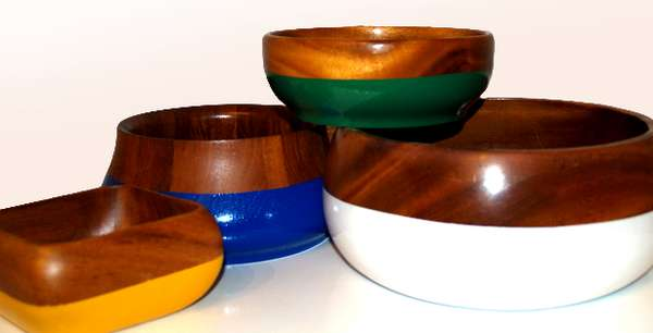Salvaged Timber Saucers