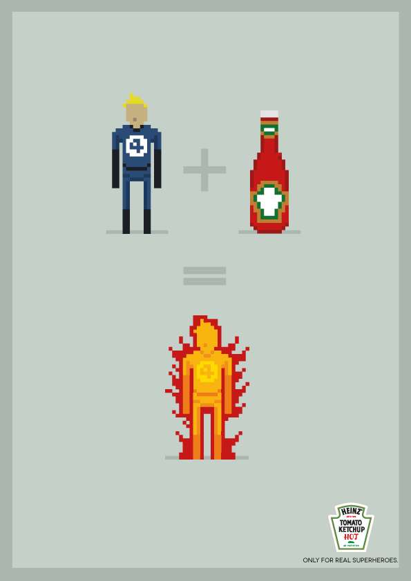 Superheroic Ketchup Equations