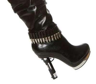Gun-Inspired Shoes