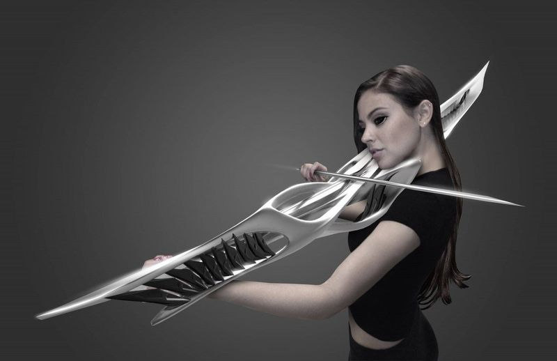 Futuristic Violin Designs