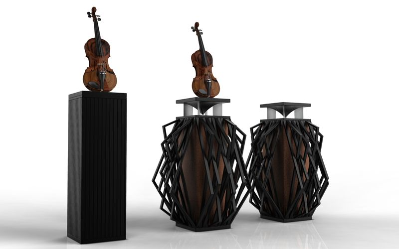 Violin-Inspired Audio Systems