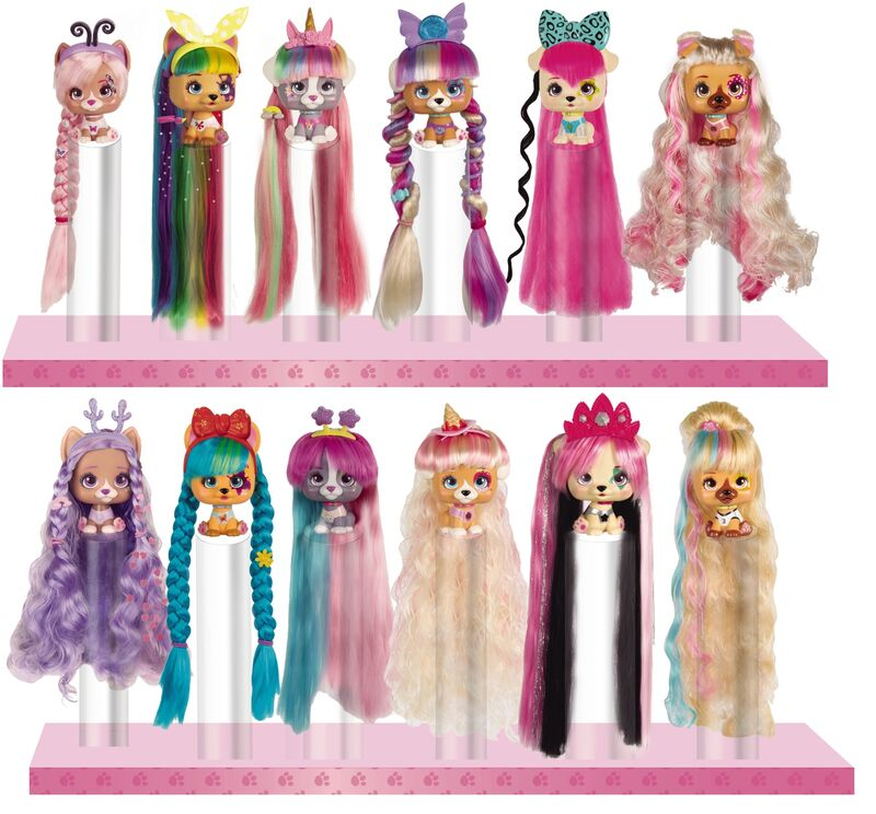 Long-Haired Pet-Dolls