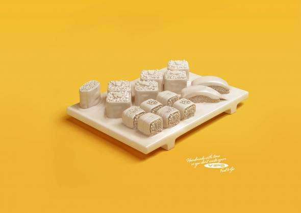Porcelain Food Campaigns