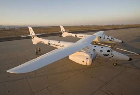 Virgin Galactic Spacecrafts Unveiled