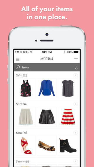 Closet Organization Apps