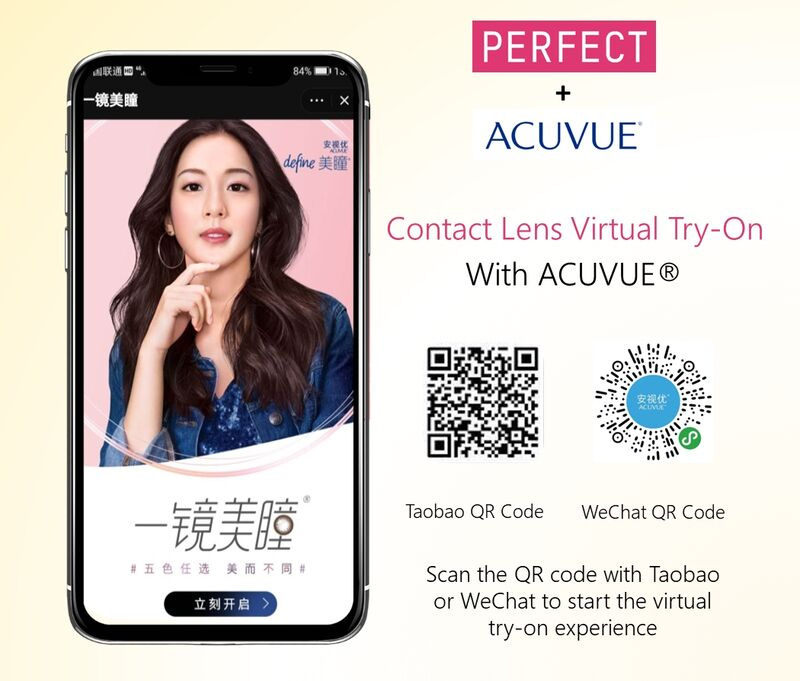 Virtual Contact Lens Try-Ons