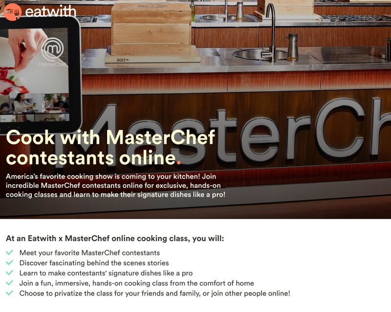 Chef-Led Virtual Cooking Classes