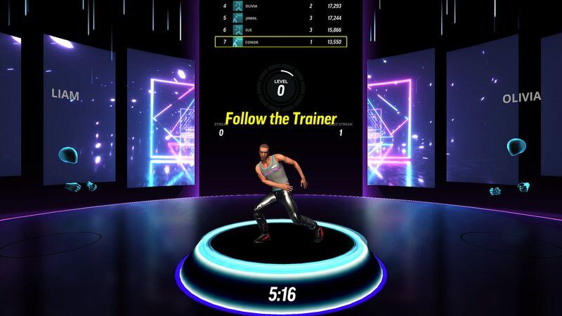 Gamified Virtual Fitness Studios