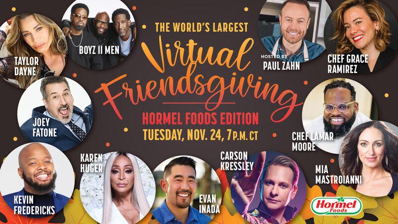 Virtual Friendsgiving Events