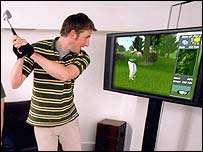 Virtual Golf at Home