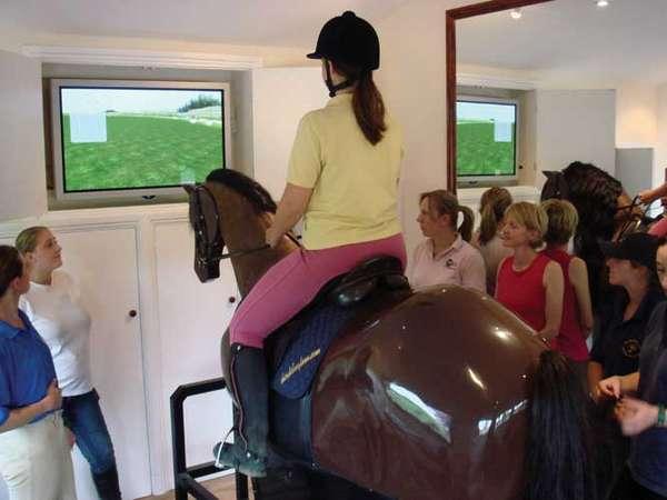 Virtual Horseback Riding Simulators Ridemaster Pro