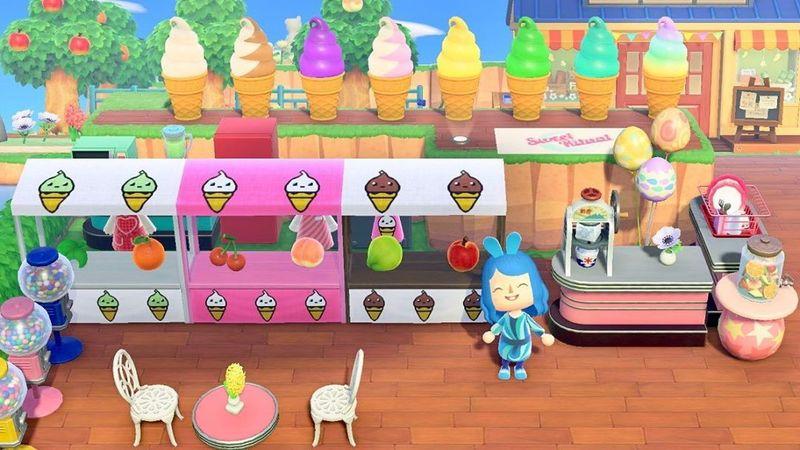 Virtual Ice Cream Shops