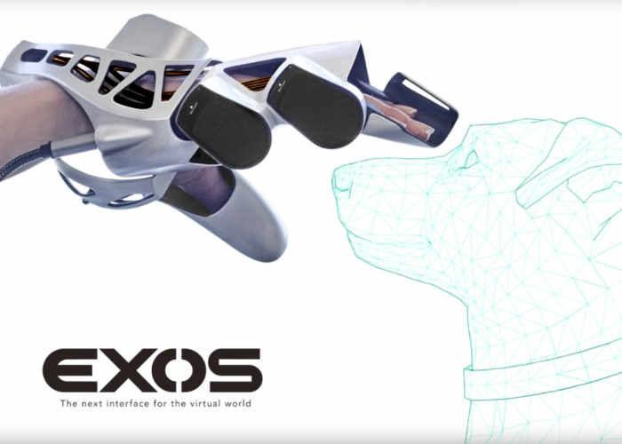 Exoskeleton VR Gloves
