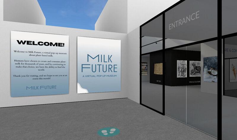 VR Vegan Milk Museums