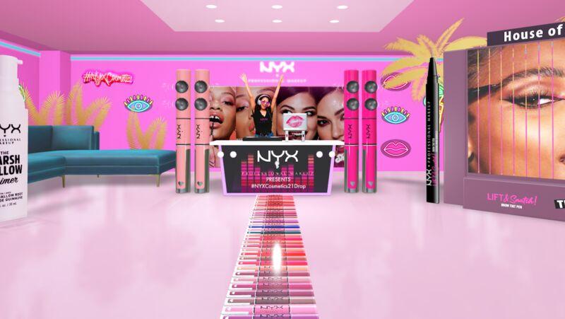 Virtual Cosmetics Shops
