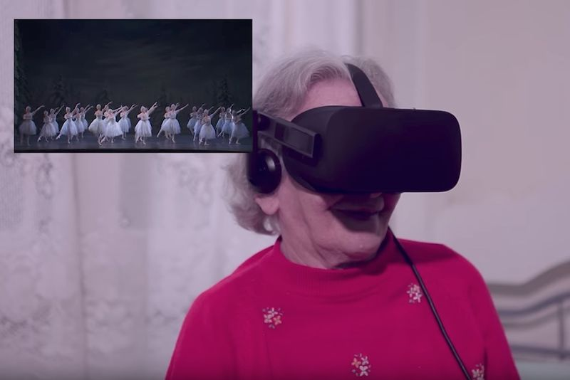 Senior VR Travel Campaigns