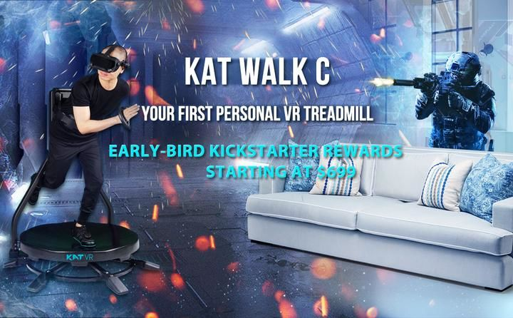 Virtual Reality Treadmills