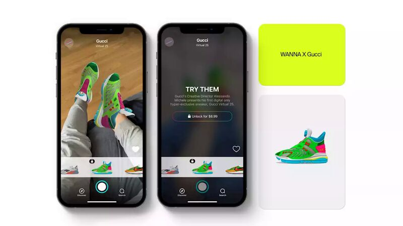 Collectible Virtual Sneakers