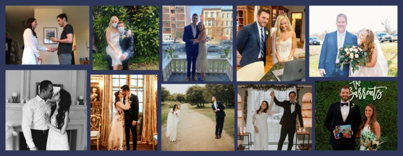 Video Conferencing Weddings : virtual weddings