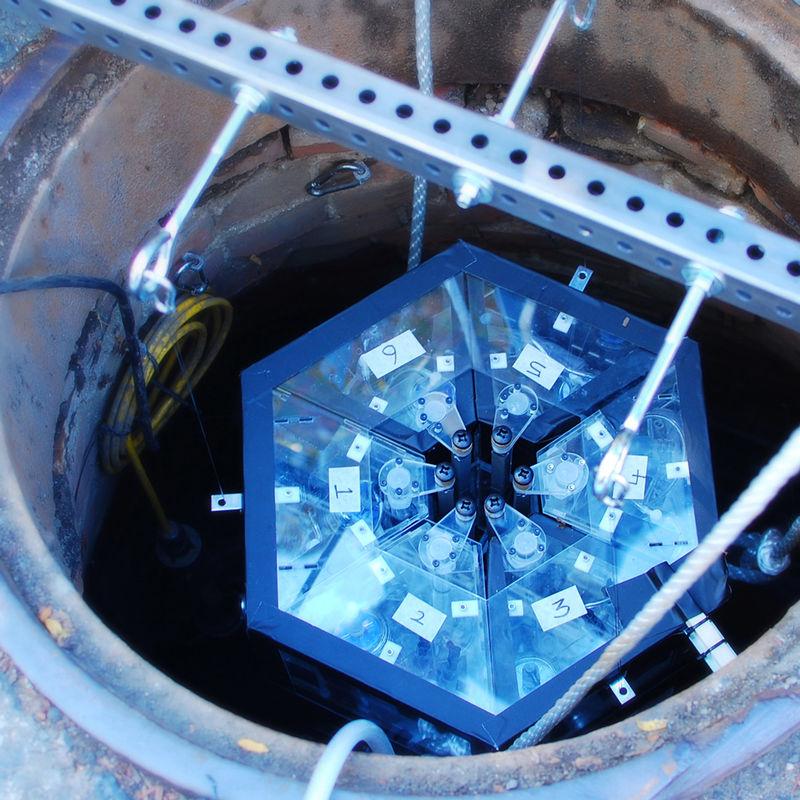 Sewage-Sampling Robots