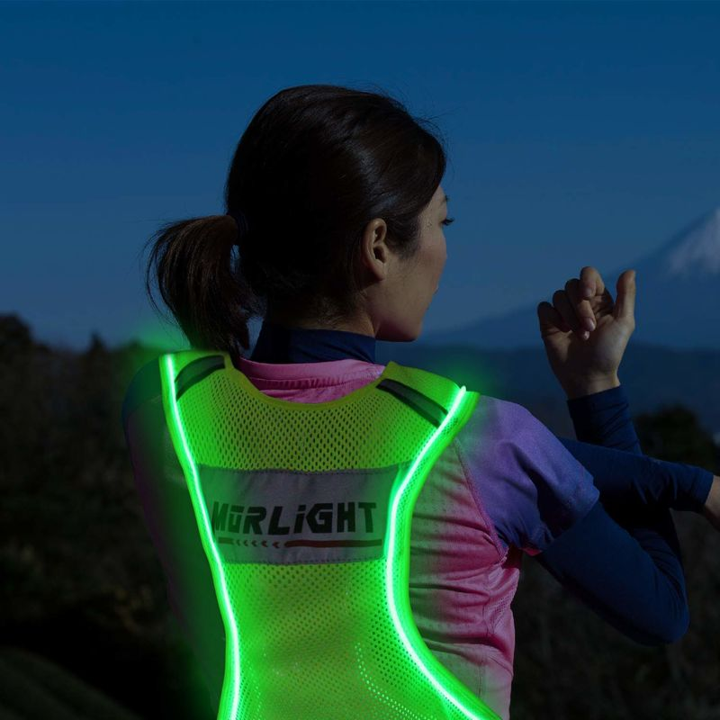 Vibrant Athlete Visibility Vests