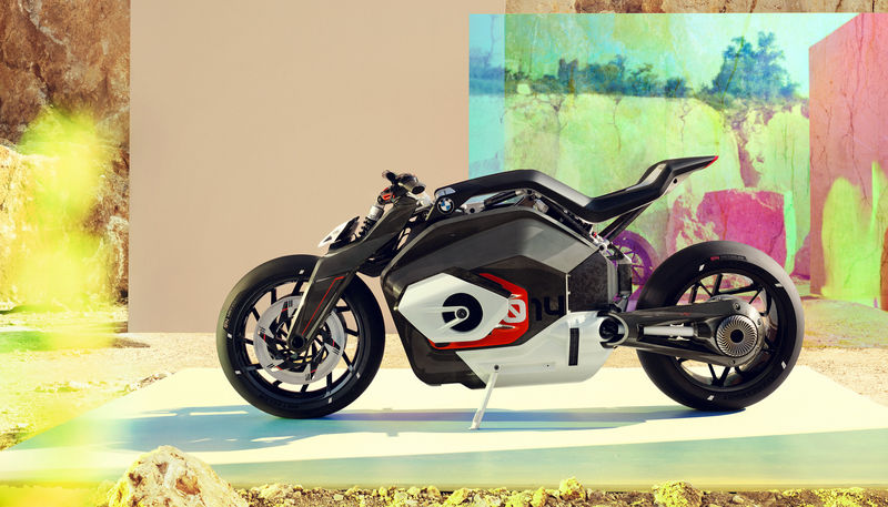 Futuristic Electric-Motorcycles