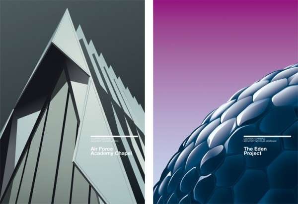 Abstract Architecture Posters