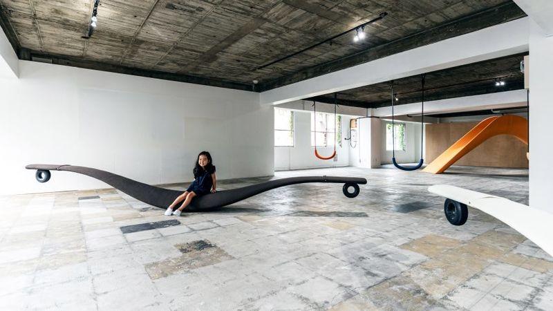 Playground-Style Visual Art Exhibitions
