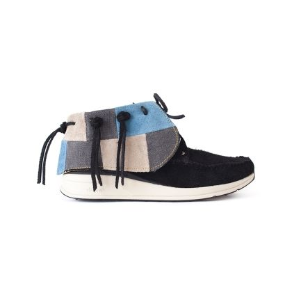 Patchwork Streetwear Moccasins