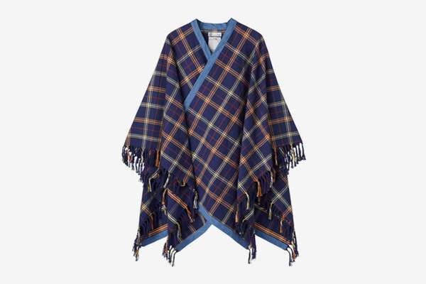 Picnic Plaid Ponchos