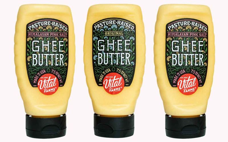 Squeeze Bottle-Packaged Butters