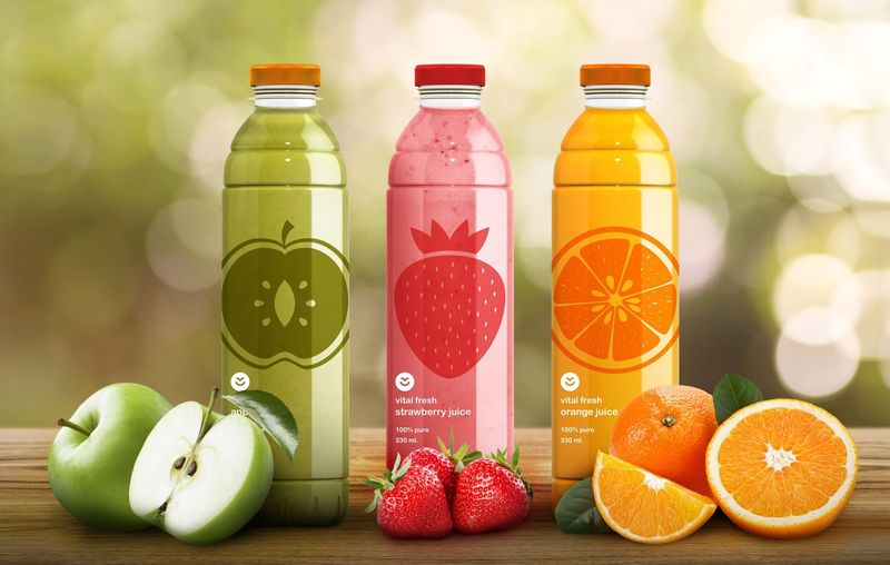 Purity Focused Fruit-Based Beverages