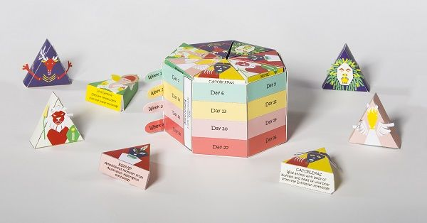 Playful Vitamin Boxes