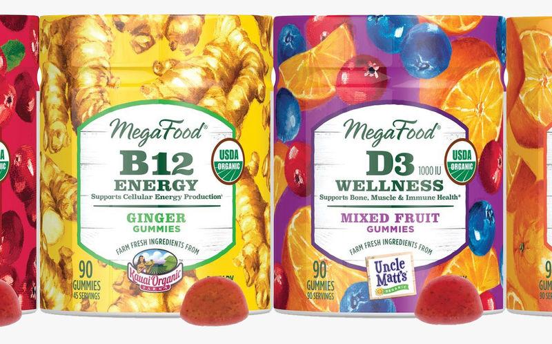 Nutrient-Rich Gummy Candies