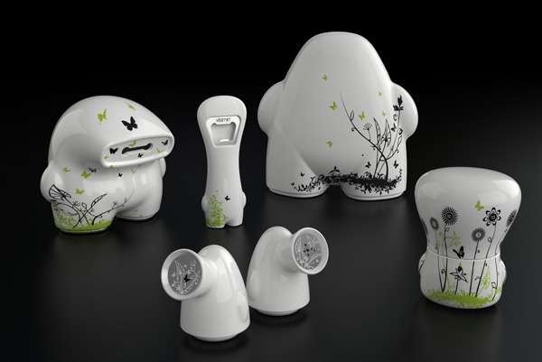 Dainty Ceramic Monsters