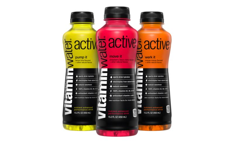 Vitamin-Infused Sports Drinks