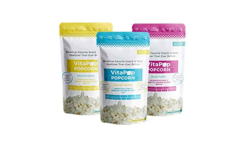 Organic Vitamin-Enriched Popcorns