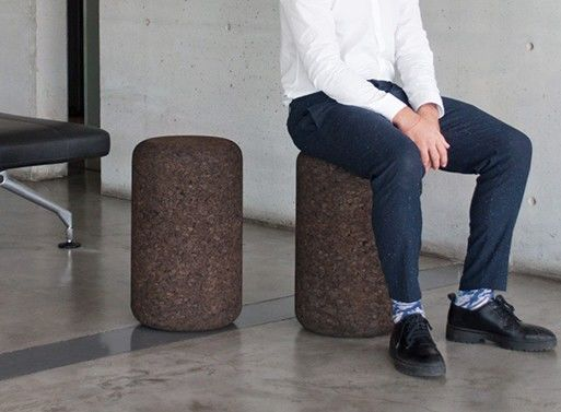 Textural Cork Seating