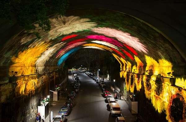 Spectacular Urban Light Installations