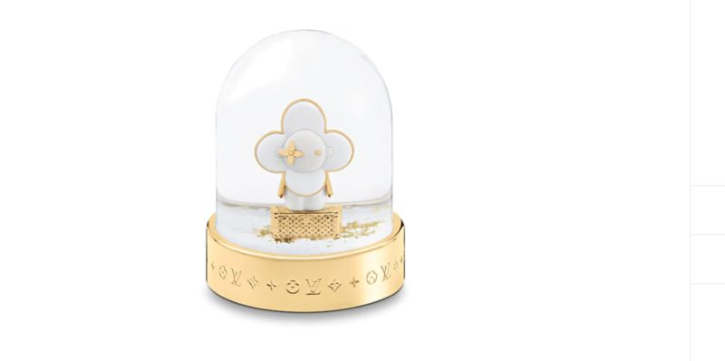 Luxurious Festive Snow Globes