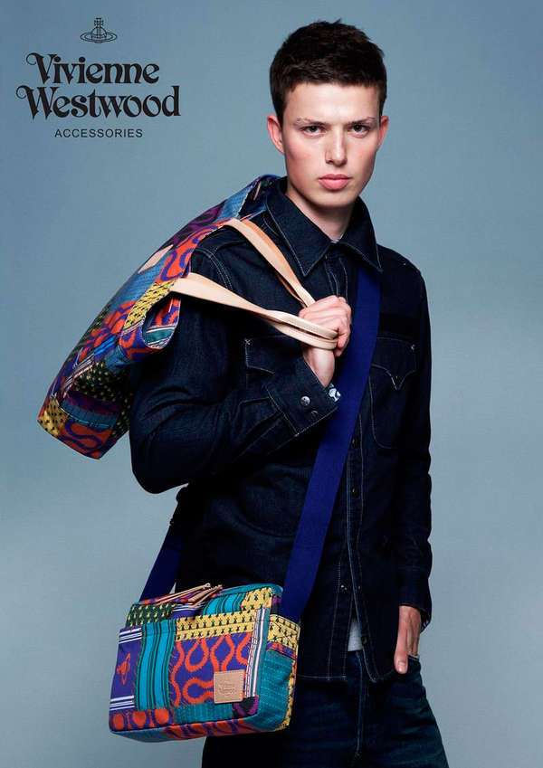 Vibrant Hipster Baggage Ads