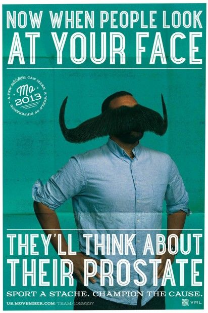 Face-Covering Mustache Ads