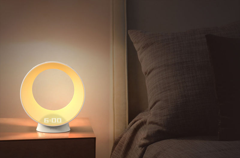 Voice Assistant Sunrise Clocks