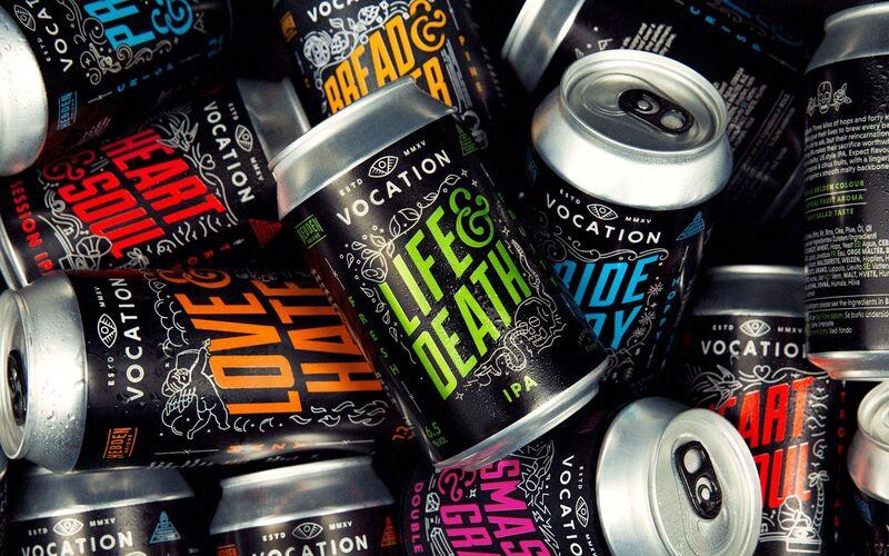 Eye-Catching Craft Beer Designs