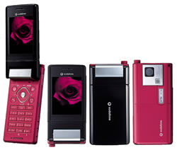Vodaphone V604SH Mobile Phone with Style and Substance