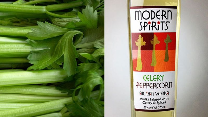 Celery-Flavored Alcohol
