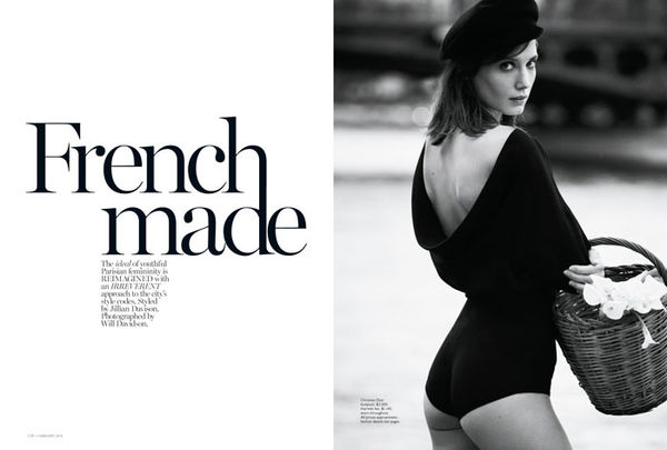 Perfectly Parisian Editorials