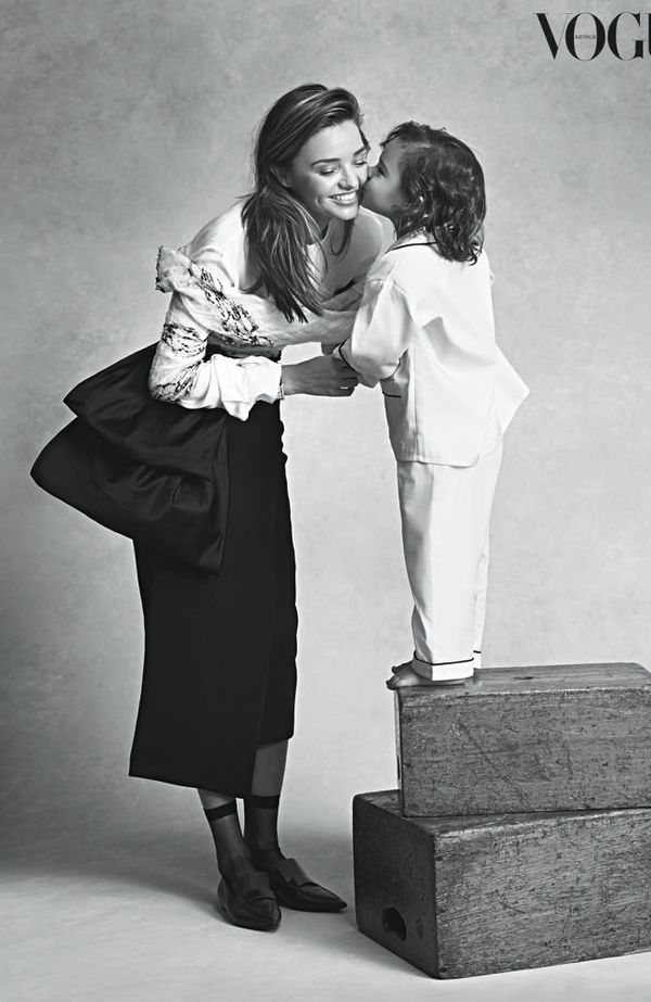 Chic Mother-Son Editorials