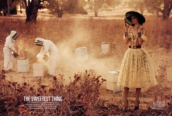 Romantic Bee-Keeping Editorials